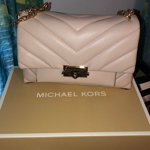 💞 MICHAEL KORS CECE MEDIUM QUILTED LEATHER BAG 💞